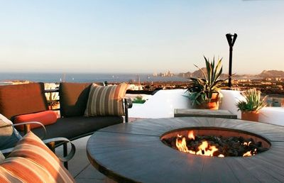 4th level sky-deck with firepit for 12 - finest view on the Southern Baja