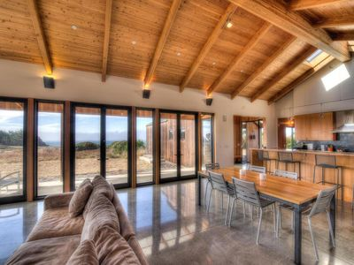 Expansive Great Room overlooking Ocean
