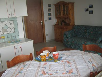 Holidy House with 3 apartments sea view in S.M.Navarrese, 700 m from the beach