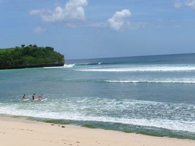 Jimbaran villa rental - The beach down the road - Balangan