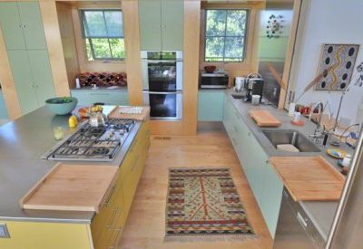 Katama house rental - Gourmet Kitchen Is Fully-Equipped With Miele Stainless Appliances, Double Ovens & Sinks