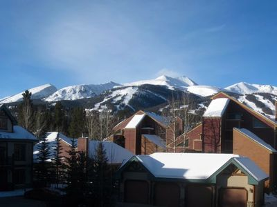Welcome to the Views at The Corral at Breckenridge. Photo taken from the Deck.