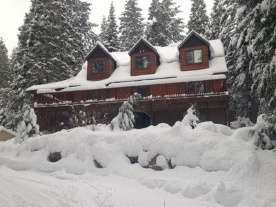Winter time at the chalet