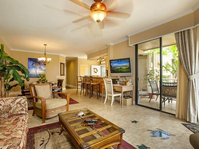 Over 1300 sq. ft. of lanai and living area!