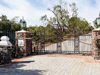 Malibu house photo - Private Gated Entrance to Stone Eagle Retreat