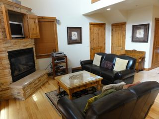 Keystone townhome photo - Living Room with flatscreen, dvd and surround sound
