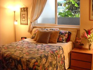 Poipu condo photo - Large second bedroom. Queen bed.