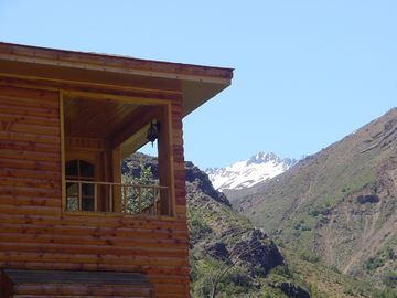 Terrace Casa #2 with view of Rushing River Maipo