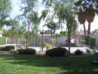 Las Vegas house photo - Backyard