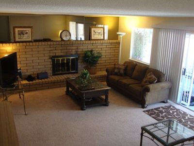 .family room / lounge. new furniture