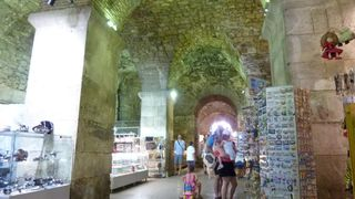 Split apartment photo - Famous Diocletian palace basements, just 100 meters from accommodations