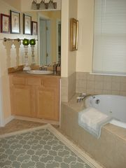 Bozeman house photo - Master bath spa tub and smaller vanity