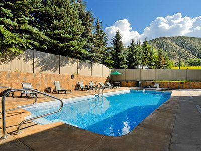 Outdoor Swimming Pool at the Christie Lodge Resort