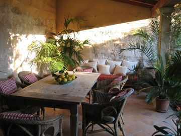 Campanet Center house rental - Perfect for eating alfresco