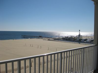 View of Beach looking SE toward amusement pier