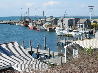 Chilmark studio rental - Menemsha Harbor