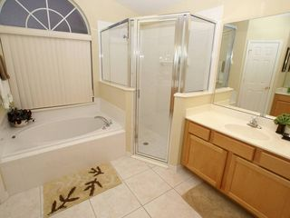 Orange Tree villa photo - Spacious shower in the Master Bathroom