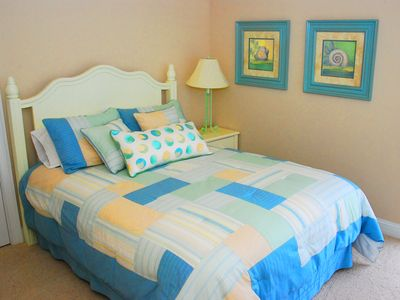 North Topsail Beach house rental - First floor queen bedroom suite w/ private balcony