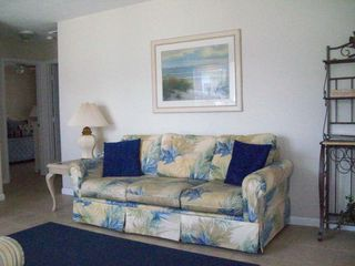 Fort Myers Beach house photo - There's a queen sized sofa sleeper in the living room for added sleeping