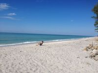 Delightful Beachfront Private Condo - Manasota Key, Gulf of Mexico