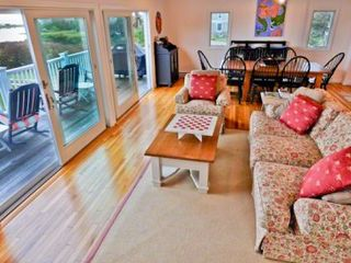 Oak Bluffs cottage photo - The Home Features An Open Upstairs Layout Designed To Maximize The Water Views