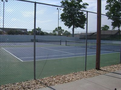 Branson condo rental - Tennis Courts