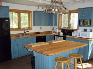 Liberty cottage photo - Kitchen with hand made oak counter tops