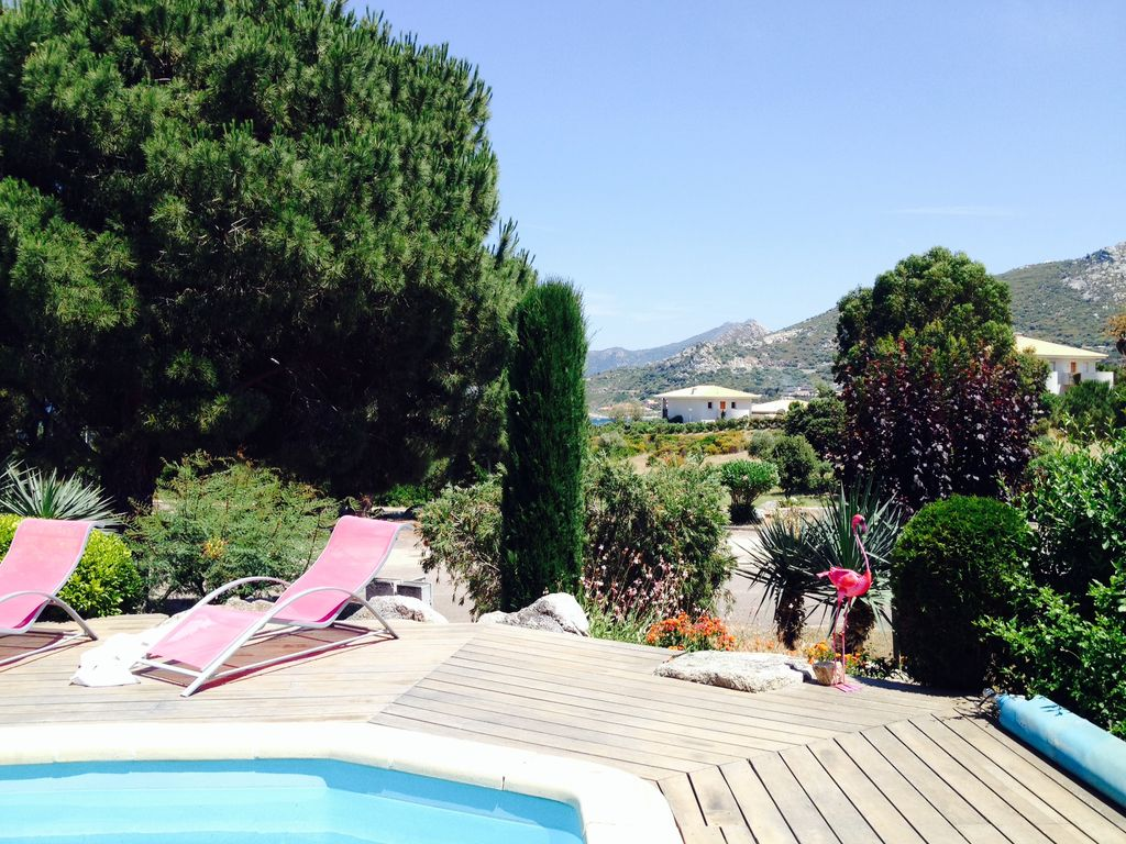 Air-conditioned accommodation, great guest reviews , Algajola, Corsica