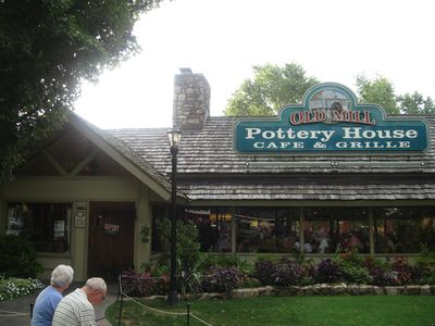 Nearby Pigeon Forge has great places to eat and shop!