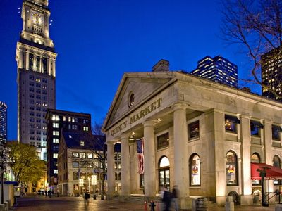 Boston condo rental - The shops and pubs of Faneuil Hall on the Freedom Trail just over 2 miles away