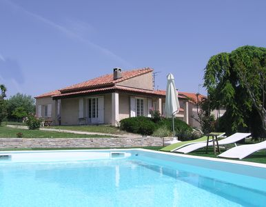Villa with pool Cabries, between Aix-en-Provence and Marseille