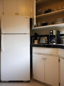 West Hollywood apartment rental - Cups, plates, glasses, bake ware, utensils, non-stick cook ware, disposal.