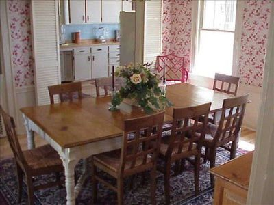 Chateau Rockmoor Dinning Room with Beautiful Oak Flooring.. Seats 10