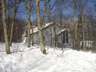 Wintergreen house photo - Black Rock in Winter