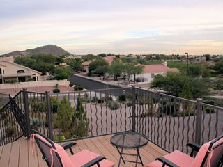 Mesa house photo - View from front deck: Red Mtn Ranch Golf Course