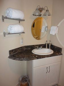 Aptos house rental - Guest Bathroom on Second Floor