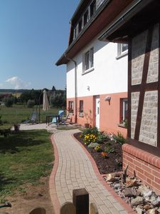 100sqm apartment *** welcome to Eisenach with waterbed fireplace nursery animals,