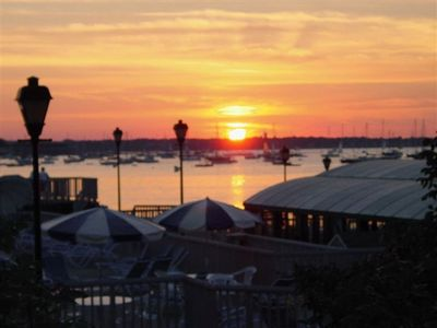 Newport condo rental - Harbor Sunset