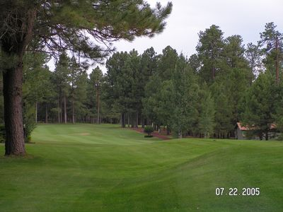 Pinetop Country Club driving range and tennis courts are open to the public