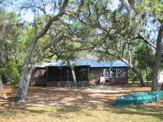Ocala cottage photo - Cabin, Charcoal Grill, & Canoe