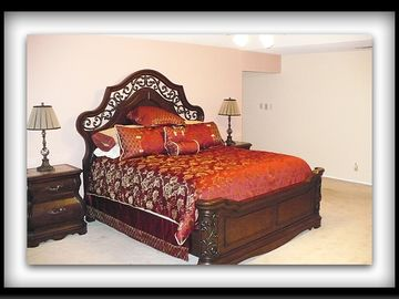 San Antonio house rental - Luxurious Master bedroom