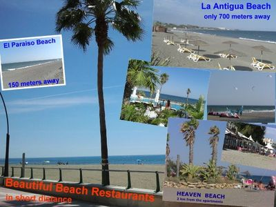 Guadalmina apartment rental - Beautiful beaches with nice restaurants