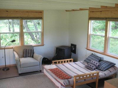 Claryville cabin rental - Separate studio with one bed