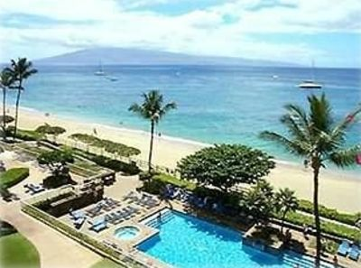 Kaanapali condo rental - The Whaler pool is situated to overlook scenic Ka'anapali Beach.