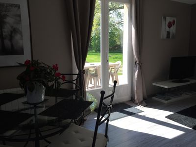 charming completely new apartment on the ground floor with garden parking