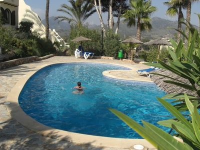 Los Altos villa rental - The pool behind our villa