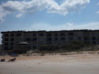 Ormond-by-the-Sea condo photo - View of South Building from the beach
