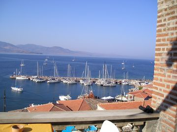 Villa Molova, View from first floor, Aegean Regatta 2007