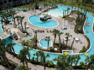 Fort Walton Beach condo photo - 700 Sq Ft Lazy river on Bay