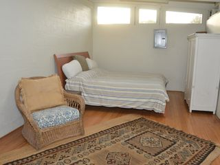 Haiku cottage photo - This bed is a well made frame with a renowned Swedish designed and made mattress